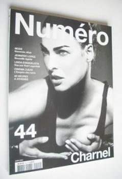 Numero magazine - June 2003 - Linda Evangelista cover