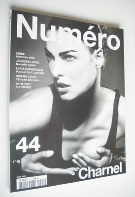 <!--2003-06-->Numero magazine - June 2003 - Linda Evangelista cover