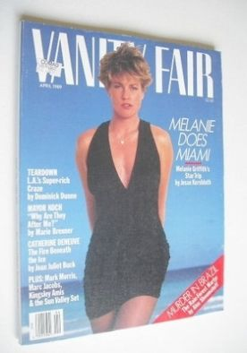 <!--1989-04-->US Vanity Fair magazine - Melanie Griffith cover (April 1989)