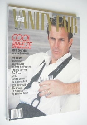<!--1989-05-->US Vanity Fair magazine - Kevin Costner cover (May 1989)