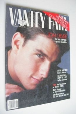 <!--1989-01-->US Vanity Fair magazine - Tom Cruise cover (January 1989)