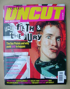 Uncut magazine - John Lydon cover (June 2000)