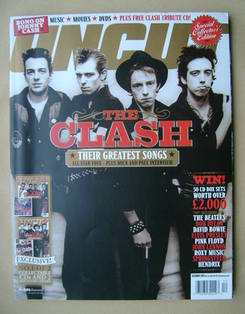 <!--2003-12-->Uncut magazine - The Clash cover (December 2003)