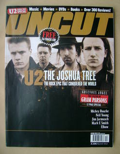 <!--2003-10-->Uncut magazine - U2 cover (October 2003)