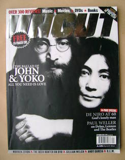 <!--2003-09-->Uncut magazine - John Lennon and Yoko Ono cover (September 20