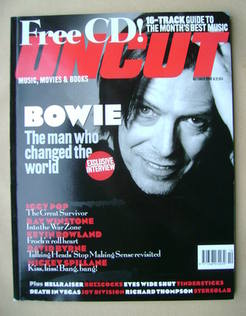 <!--1999-10-->Uncut magazine - David Bowie cover (October 1999)