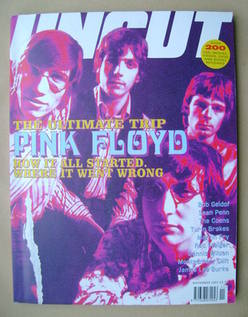 Uncut magazine - Pink Floyd cover (November 2001)