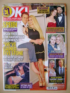 <!--2013-03-05-->OK! magazine - Spencer Pratt and Heidi Montag cover (5 Mar