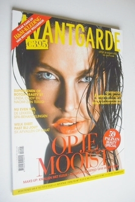 <!--2009-05-->Avantgarde magazine - May 2009 - Lonneke Engel cover
