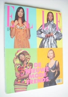 <!--1992-03-->Netherlands Elle magazine - March 1992 - Naomi, Yasmeen, Beve