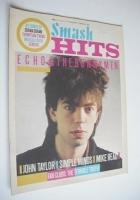 <!--1984-01-19-->Smash Hits magazine - Ian McCulloch cover (19 January - 1 February 1984)