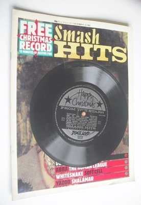 <!--1982-12-09-->Smash Hits magazine - Kevin Rowland cover (9-22 December 1