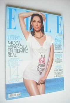 Spanish Elle magazine - June 2009 - Eugenia Silva cover