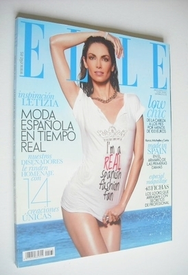 <!--2009-06-->Spanish Elle magazine - June 2009 - Eugenia Silva cover