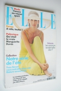 French Elle magazine - 27 July 1998 - Anouk Voorveld cover