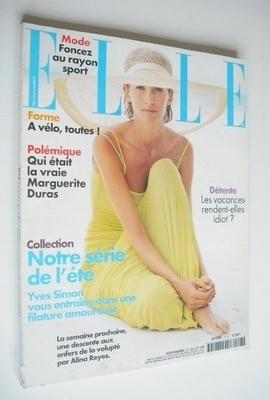 <!--1998-07-27-->French Elle magazine - 27 July 1998 - Anouk Voorveld cover