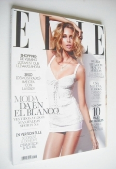 Spanish Elle magazine - March 2011 - Hana Soukupova cover