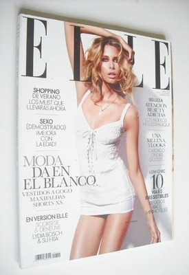<!--2011-03-->Spanish Elle magazine - March 2011 - Hana Soukupova cover