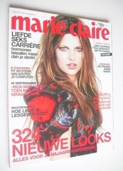 Netherlands Marie Claire magazine - September 2009 - Bette Franke cover