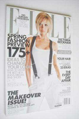 <!--2008-01-->US Elle magazine - January 2008 - Victoria Beckham cover