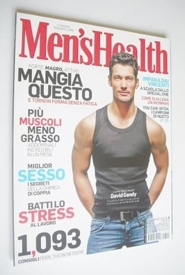 <!--2011-03-->Italian Men's Health magazine - March 2011 - David Gandy cove