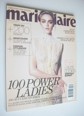 <!--2012-03-->Netherlands Marie Claire magazine - March 2012 - Sophie Vlami