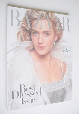 <!--2005-12-->Harper's Bazaar magazine - December 2005 - Kate Winslet cover