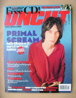 Uncut magazine - Bobby Gillespie cover (November 1999)