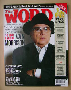 <!--2007-08-->The Word magazine - Van Morrison cover (August 2007)