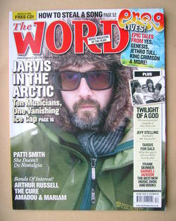 <!--2008-12-->The Word magazine - Jarvis Cocker cover (December 2008)