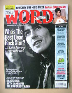 <!--2008-08-->The Word magazine - George Harrison cover (August 2008)
