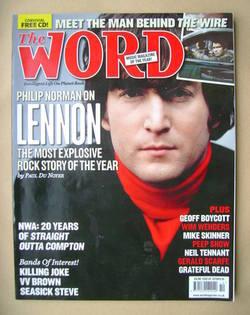 <!--2008-10-->The Word magazine - John Lennon cover (October 2008)