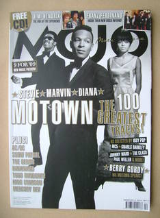 <!--2009-02-->MOJO magazine - Motown cover (February 2009 - Issue 183)