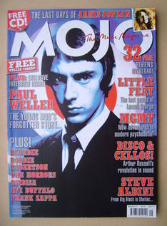 <!--2010-05-->MOJO magazine - Paul Weller cover (May 2010 - Issue 198)