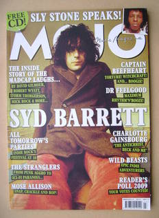 <!--2010-03-->MOJO magazine - Syd Barrett cover (March 2010 - Issue 196)