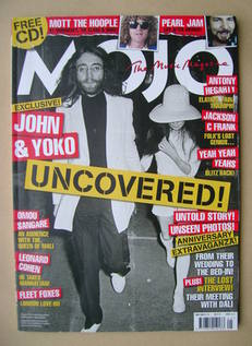 <!--2009-05-->MOJO magazine - John Lennon and Yoko Ono cover (May 2009 - Is
