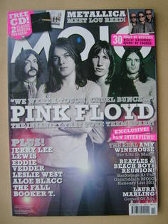 <!--2011-10-->MOJO magazine - Pink Floyd cover (October 2011 - Issue 215)