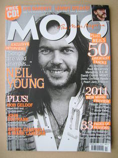 <!--2011-02-->MOJO magazine - Neil Young cover (February 2011 - Issue 207)