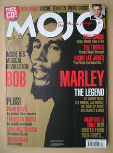 <!--2011-07-->MOJO magazine - Bob Marley cover (July 2011 - Issue 212)