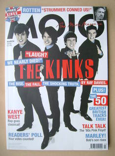 <!--2006-03-->MOJO magazine - The Kinks cover (March 2006 - Issue 148)