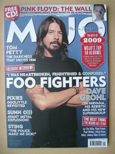 <!--2010-01-->MOJO magazine - Dave Grohl cover (January 2010 - Issue 194)
