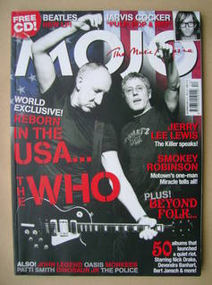 <!--2006-12-->MOJO magazine - Pete Townshend and Roger Daltrey cover (Decem