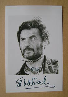 Eli Wallach autographed photo (hand-signed photograph)