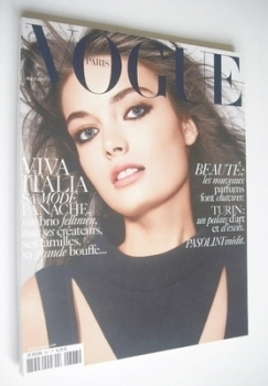 French Paris Vogue magazine - May 2006 - Anna Maria Urajevskaya cover