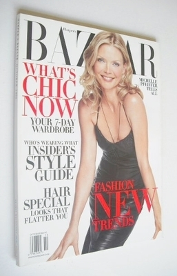 <!--2002-10-->Harper's Bazaar magazine - October 2002 - Michelle Pfeiffer c