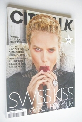 <!--2008-08-->Citizen K magazine - Summer 2008 - Heidi Klum cover