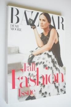 Harper's Bazaar magazine - September 2005 - Demi Moore cover
