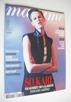 Madame Figaro magazine - 23-29 December 2011 - Saskia de Brauw cover