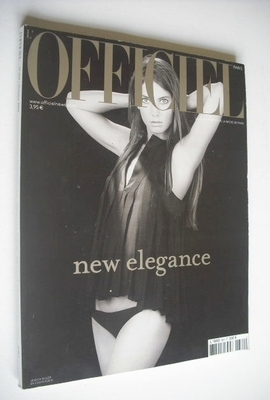 <!--2002-10-->L'Officiel Paris magazine (October 2002 - Jessica Miller cove