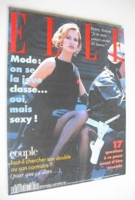 <!--1994-09-12-->French Elle magazine - 12 September 1994 - Karen Mulder co